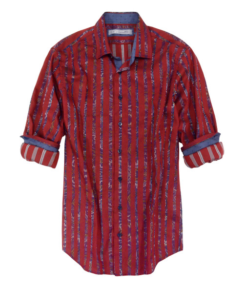 Brisbane-21069-052s-Long-Sleeves Cotton Mens Shirt