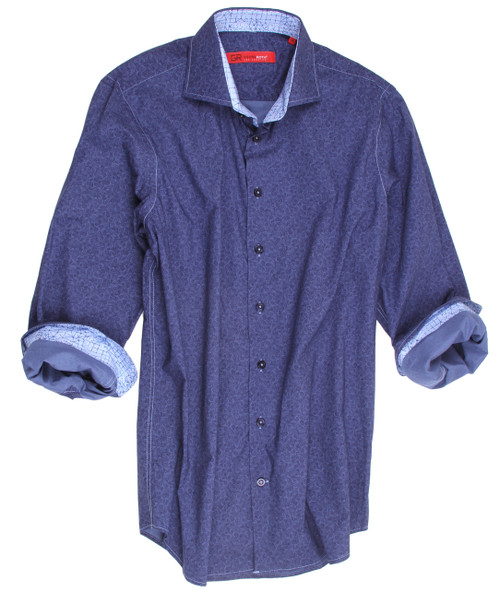 Anaheim-21039-020-Long-Sleeves-Big and Tall Cotton Shirt