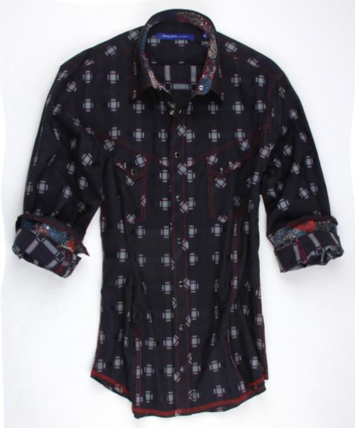 70025-001-Long-Sleeves Men Shirt