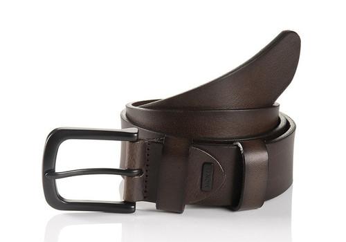 Dallas 06 313-0001-6000 Chocolate Brown Fashion Casual Belt