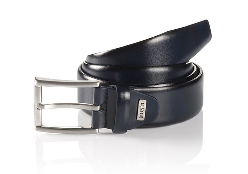 London 06 310-0000-9000 Black Business Leather Belt