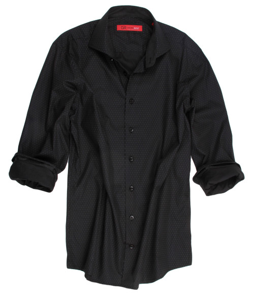Lansing-33011-020-Long-Sleeves-Cotton-Men Shirt