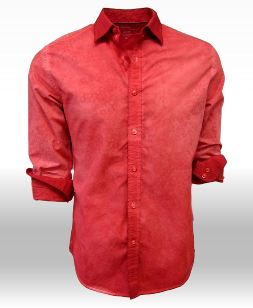 Tucson-24012W-020-Long-Sleeves-Garment Dyed-Cotton Shirt