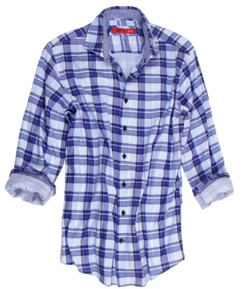 Firenze-33013-020-Long-Sleeves-Cotton-Menshirt