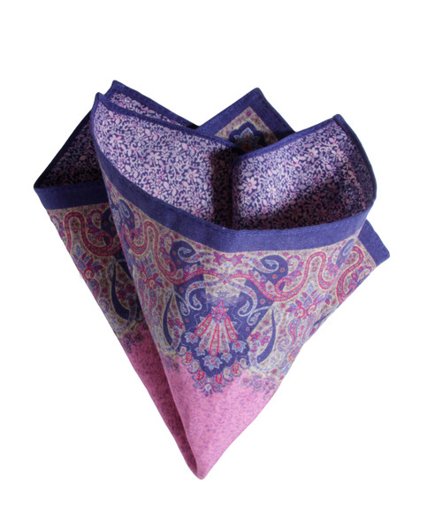 Pocket Square Pink 3450