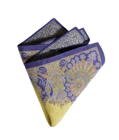 Pocket Square yellow 2250