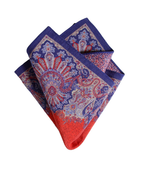 Pocket Square Red 5150