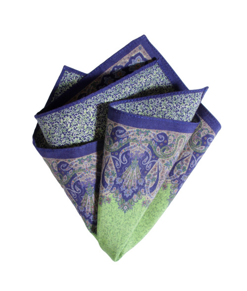 Pocket Square Green 4050