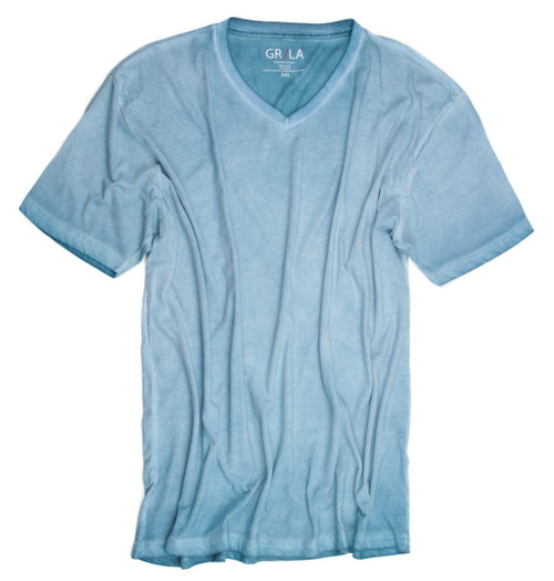 GRLA-V-5024-Mint-Short-Sleeves-Garment Dyed-T-Shirt