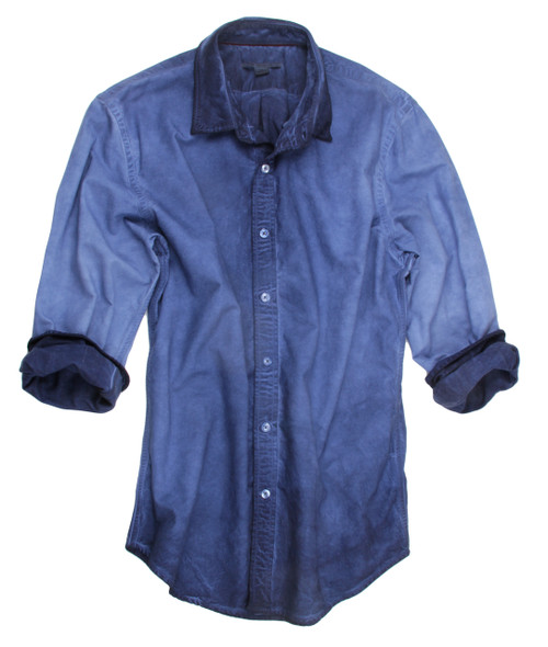 Friendswood-24003W-Long-Sleeves-Garment Dyed-Men-Shirt