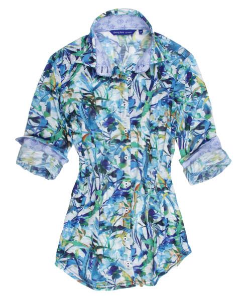 Nicole-B24014-716-Long-Sleeves-Stretch-Liberty-of-London-Cotton-Print-blouse