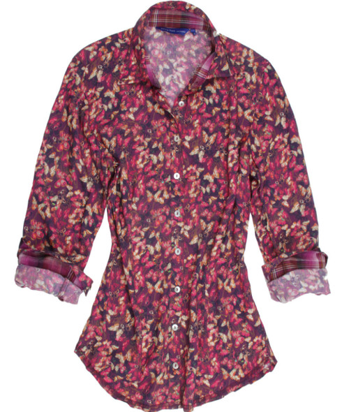 Inge-B15033-815-Long-Sleeves-Liberty-of-London-Print-Cotton/Silk-
