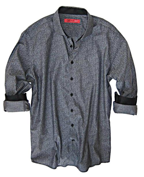 Sunnyvale 33053-020 Long Sleeves *PIMA COTTON Grey & Black