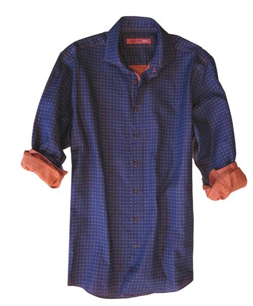 Aspen 33059-020 Long Sleeves Luxury Woven Men Shirt