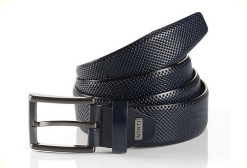 Dublin 06 310-0019-1200-Embossed Navy Leather