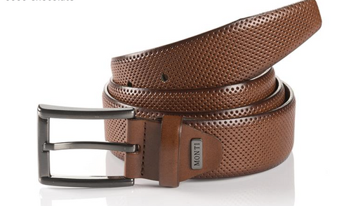 Dublin 06 310-0019-6700 Embossed Cognac Leather