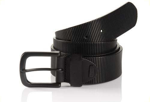 Oklahoma 06 313-0000-9000 Black Sportswear Style Leather Belt