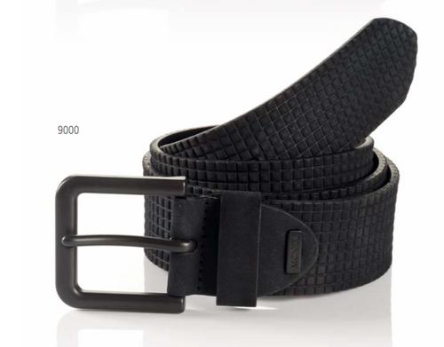 Oslo 06 313-0008-9000 Black Sportswear Style Leather Belt