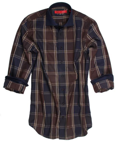 Montpellier-8064-020-Long-Sleeves-Cotton-Men's Shirt