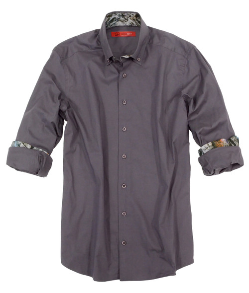 Providence-8103-018 Long Sleeves Stretch Shirt