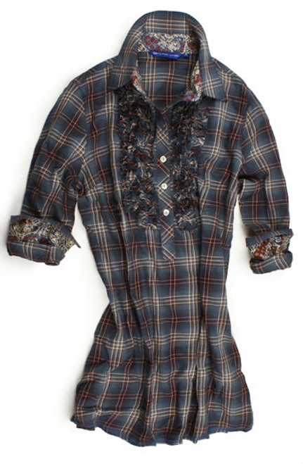 Camila-B7070-703 Long Sleeve Tunic