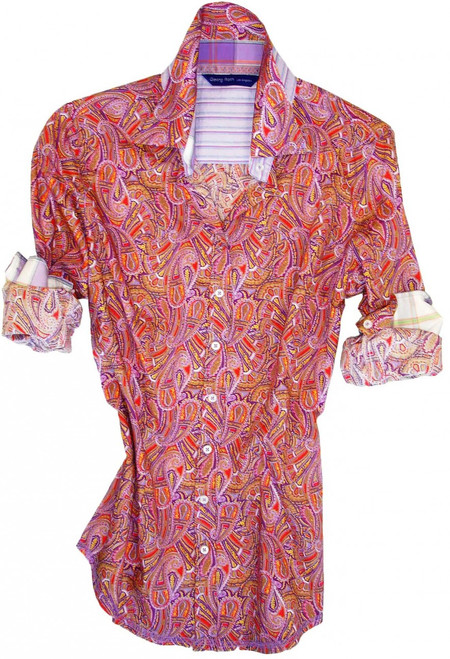 Kelsie B6009-700 Liberty of London Long Sleeves