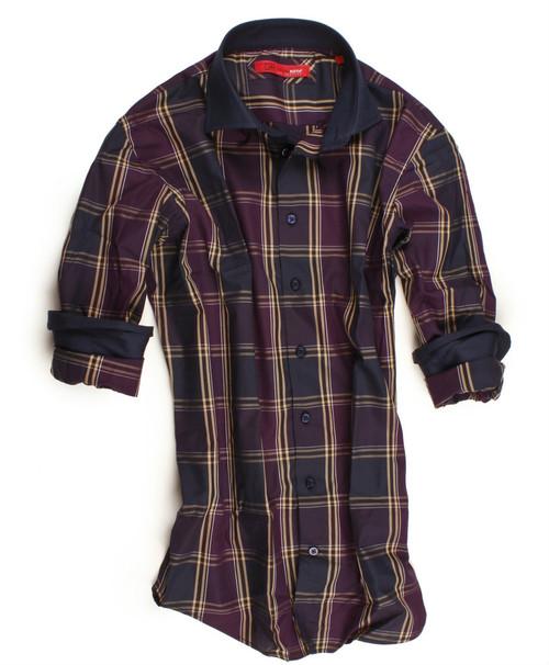 Naples-8061-020-Long-Sleeves-Cotton-Men's Shirt