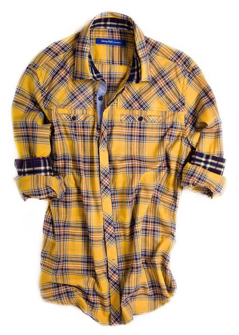 Chicago-8012-027-Long-Sleeves-Cotton-Men's Shirt