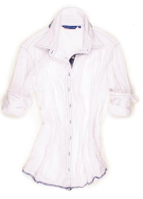 Elena B6085-700A Long Sleeves Women Blouse