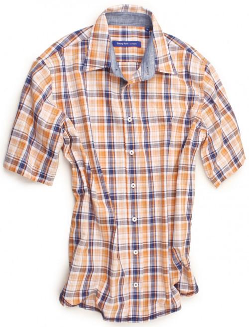 Albuquerque 30008-023-SS Short Sleeves Cotton Mens Shirt