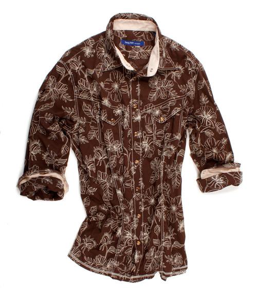 Georg Roth Men's 50855-03 BROWN Long Sleeves