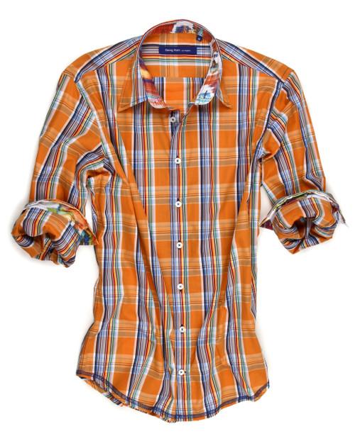 Indialantic 60076-023 Long Sleeves-Mens Shirt