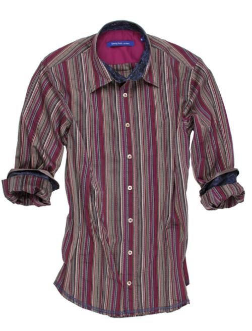 Brighton 8019-006-Long Sleeves Mens Shirt