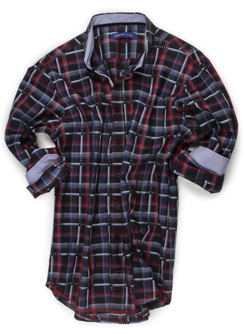 Maraba 70011-023 Long Sleeves Cotton Men Shirt