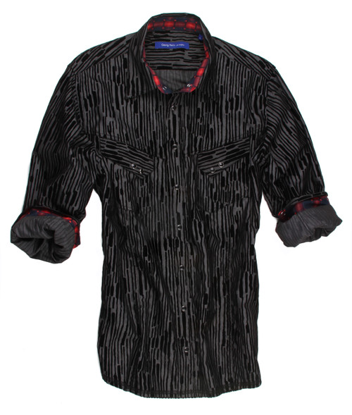 Helsinki-8068-001-Long Sleeves-Cotton-Men shirt