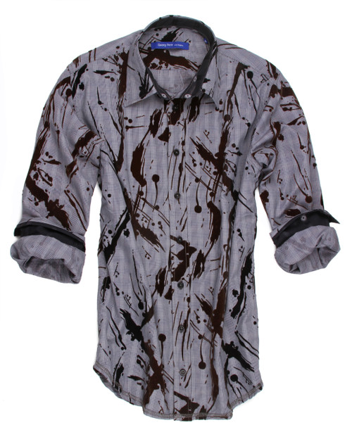 Siena 40015-023 Long Sleeves Men's Shirt