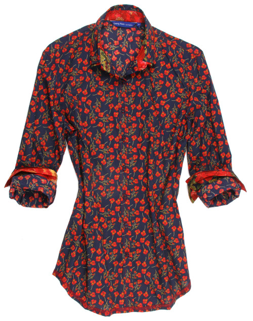 Agnes B12034-751 Long Sleeve Blouse Liberty Of London