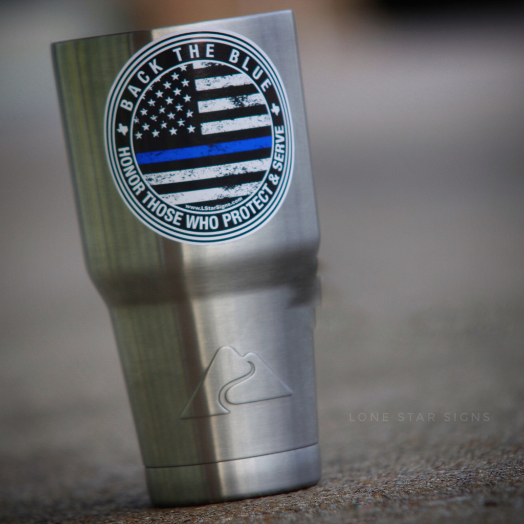 Back The Blue Thin Blue Line