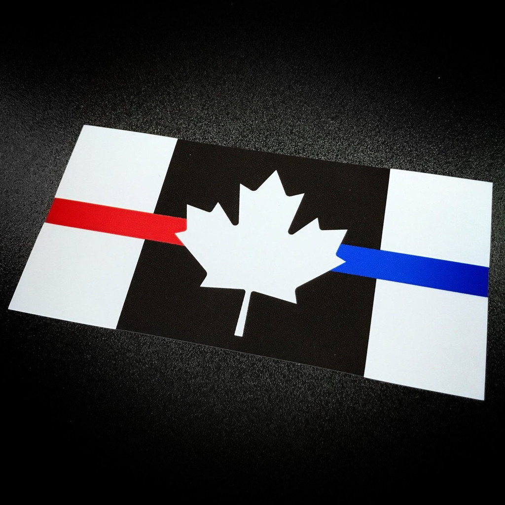 Canada First Responder - Sticker