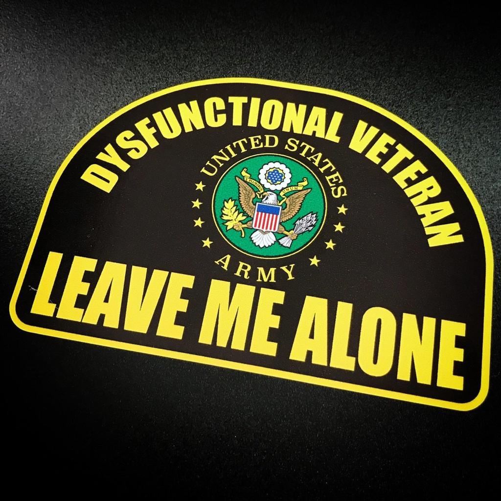 Dysfunctional Veteran ARMY Vintage - Sticker