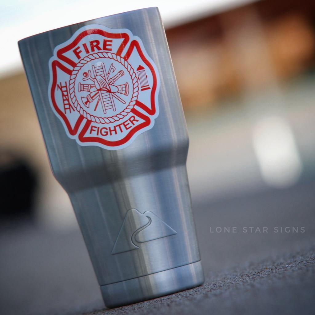 Maltese Cross Firefighter