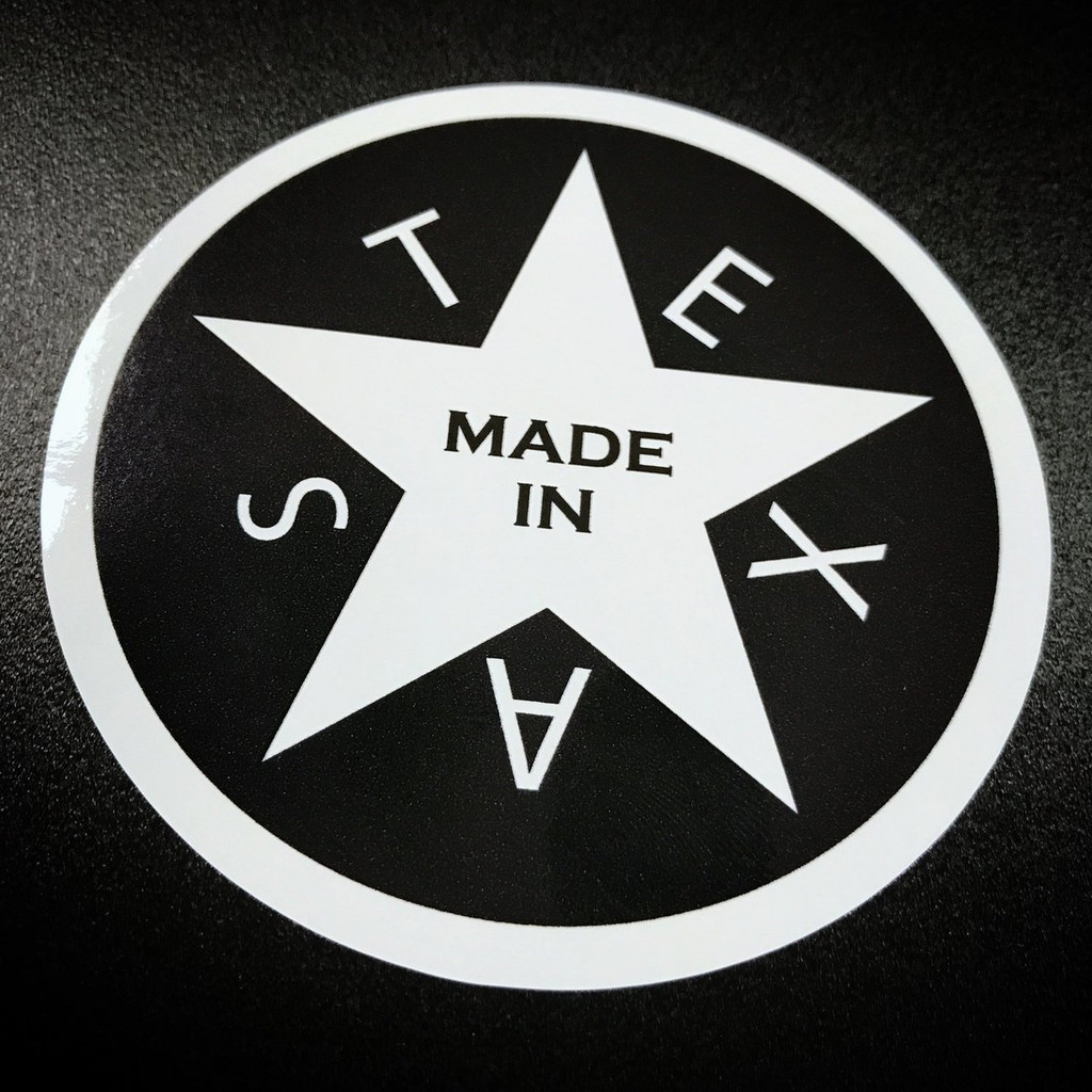MADE IN TEXAS- Circle Sticker