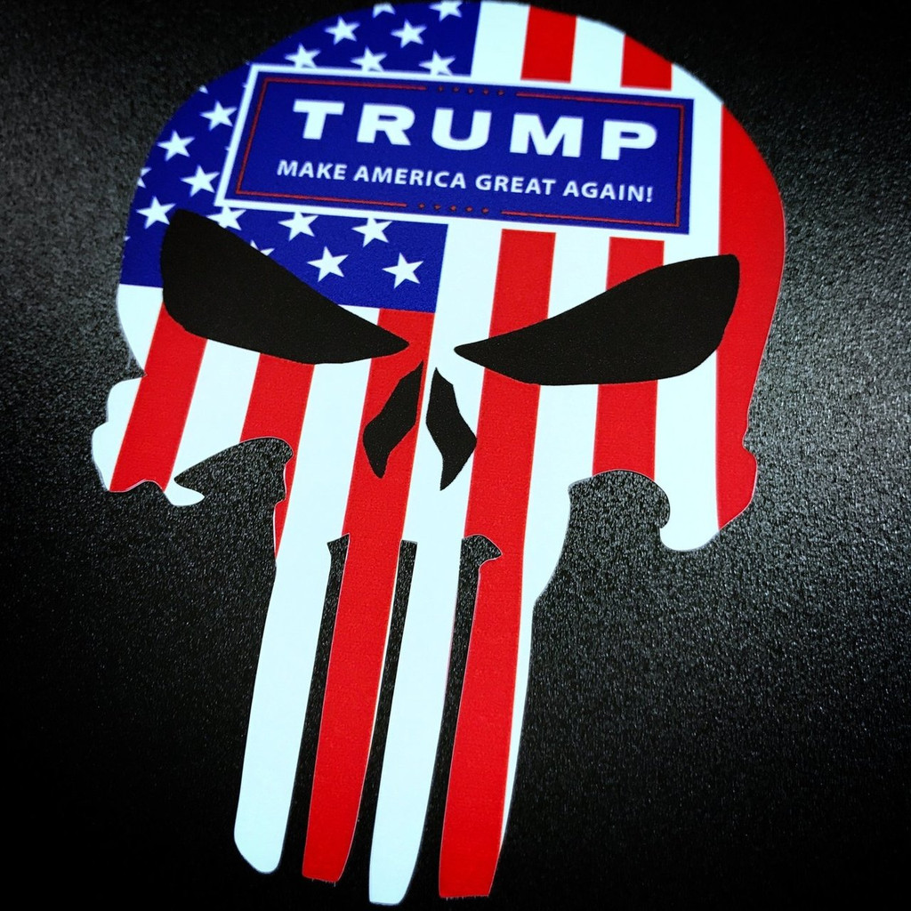 Punisher Trump - Sticker