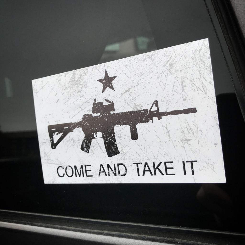 Come and Take it AR-15 - Sticker