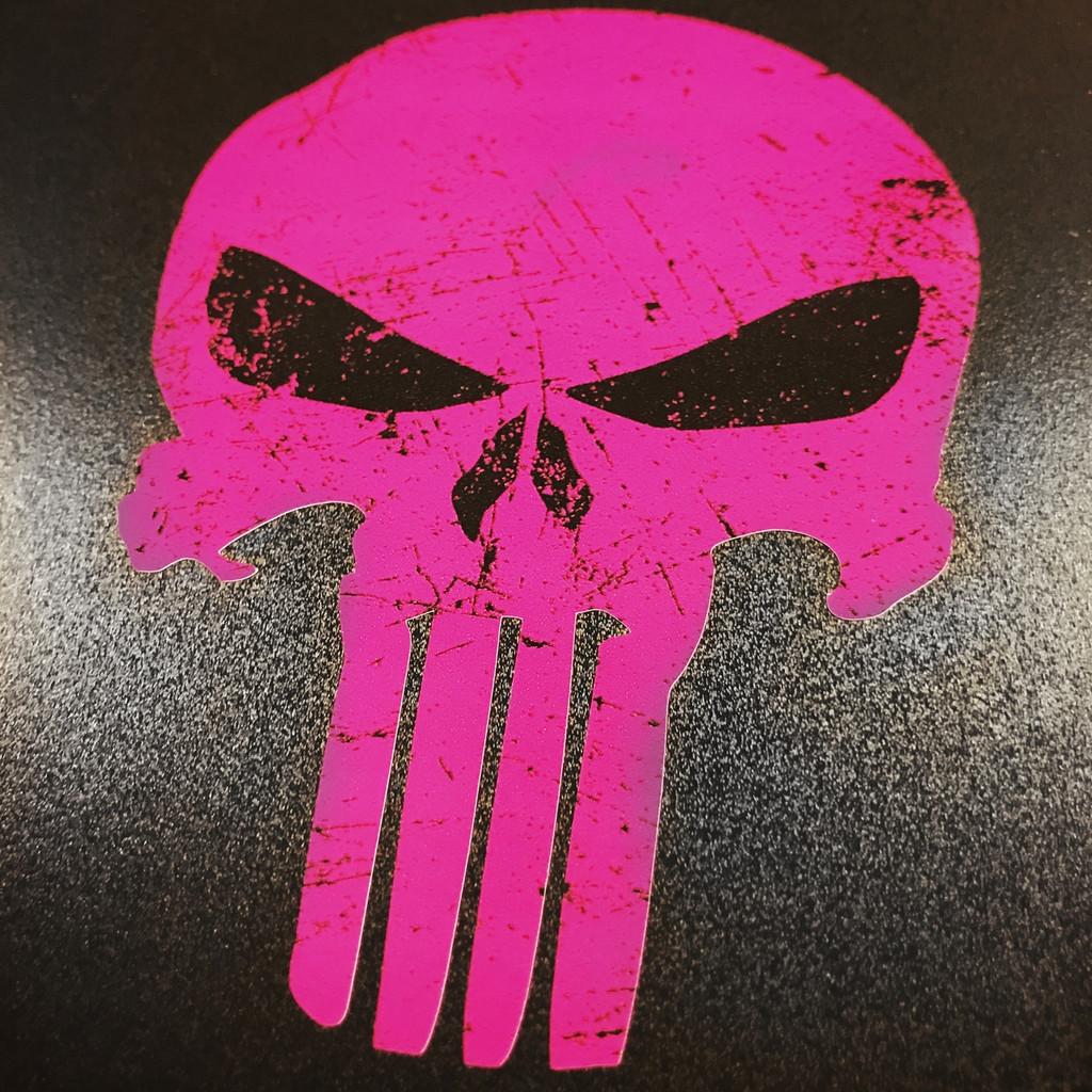 Punisher Pink - Sticker