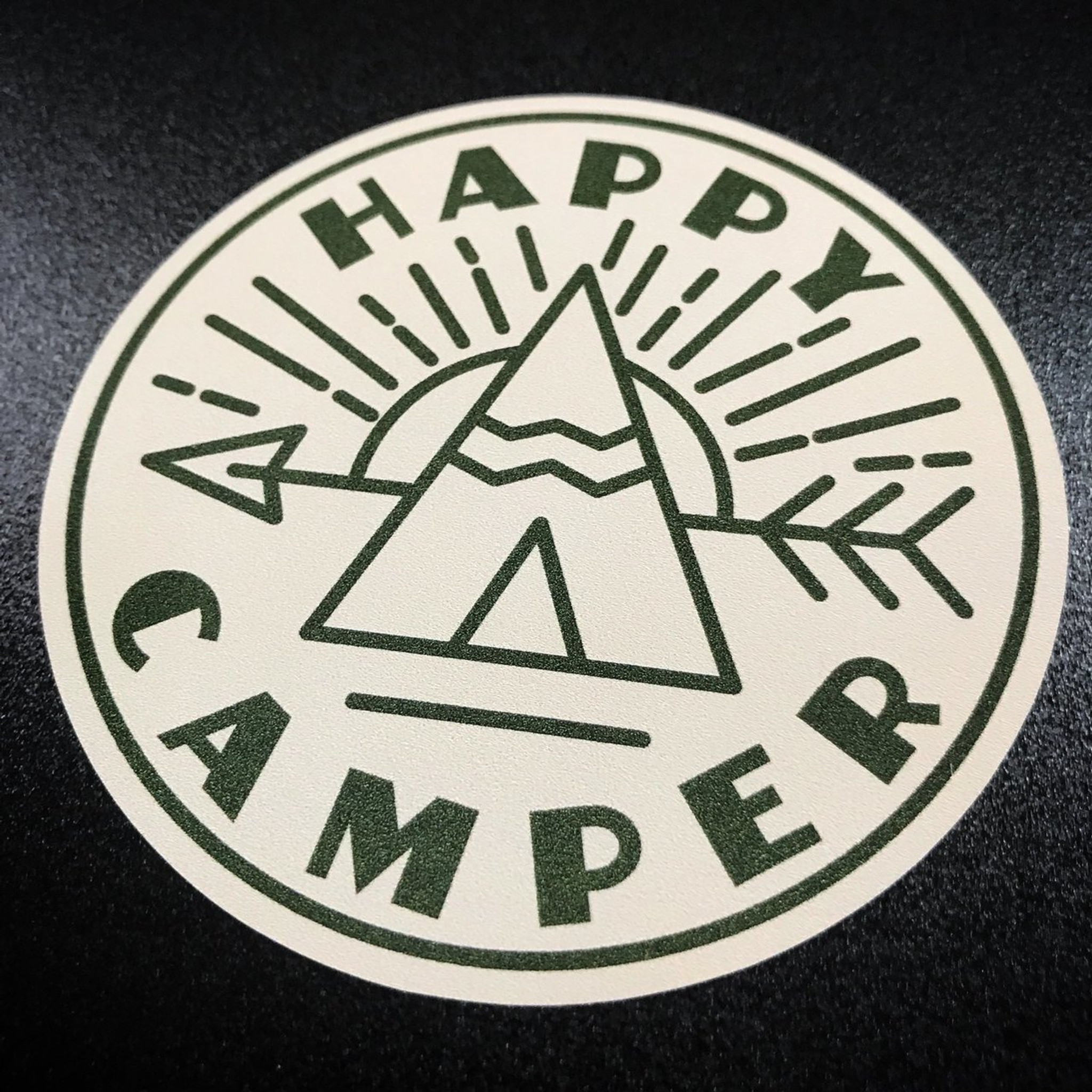 Happy Camper Lone Star Signs