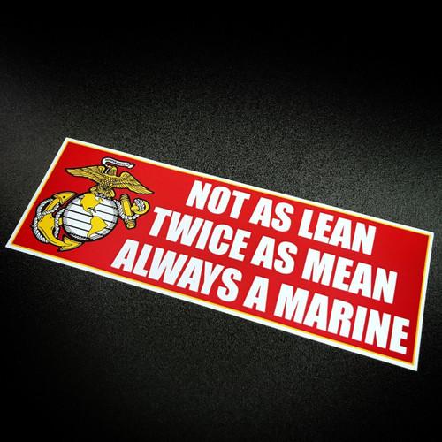 Always a Marine - Sticker