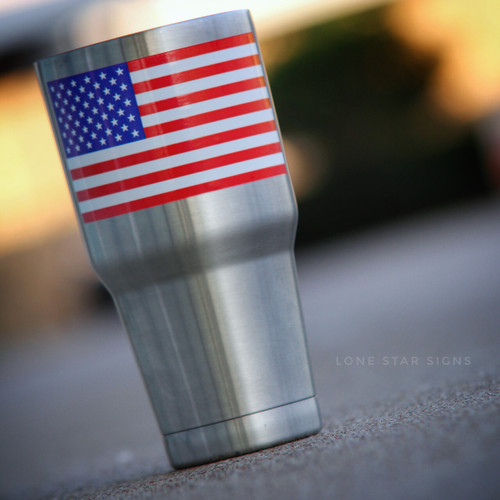 American Flag - Sticker