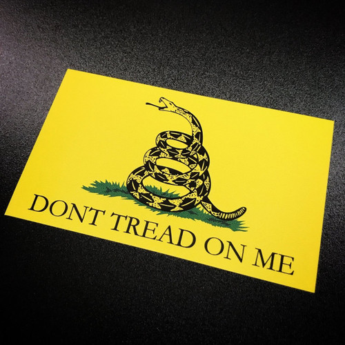 Don't Tread on Me Flag - Sticker