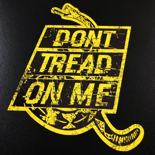 DON'T TREAD ON ME RATTLER - Sticker